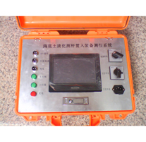 海底土液化测杆贯入装备测控系统