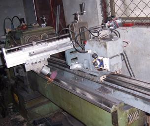 导轨磨修复机床—移动式导轨修复磨床