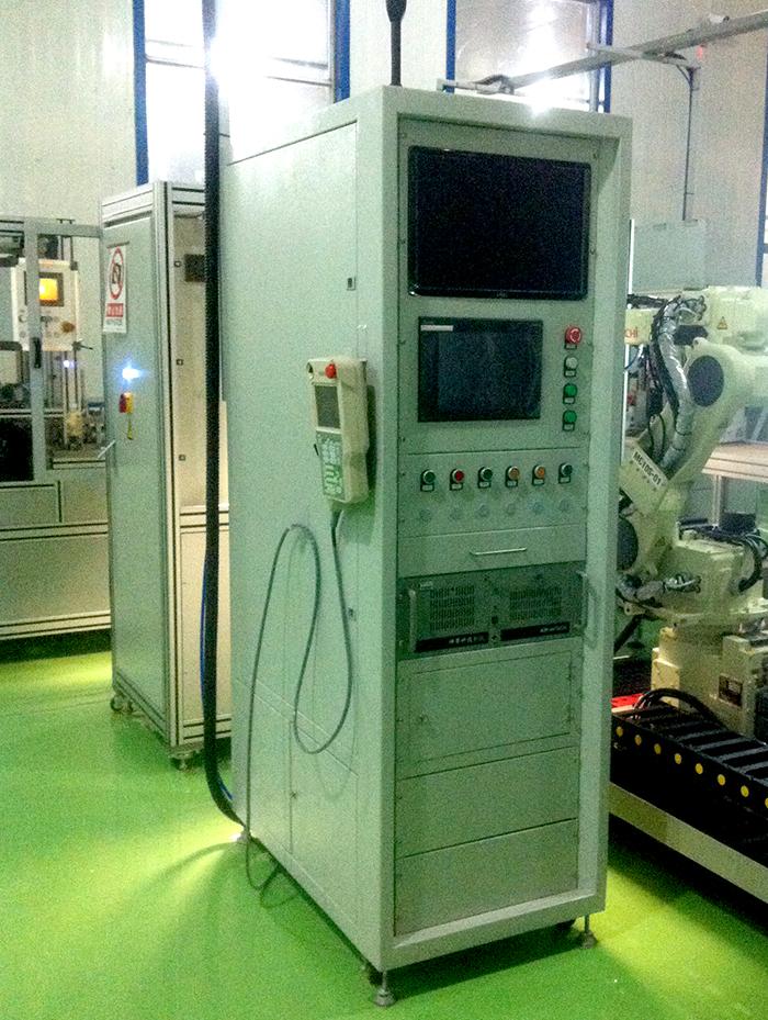 硫化机器人自动化生产线
